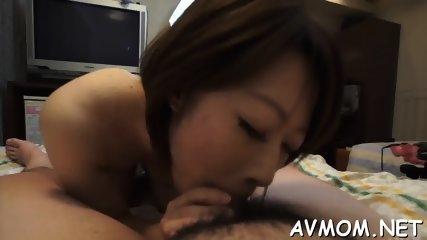 Slutty mom with fat clit and vibrator - scene 11