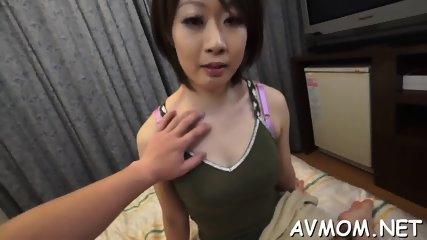 Slutty mom with fat clit and vibrator - scene 5