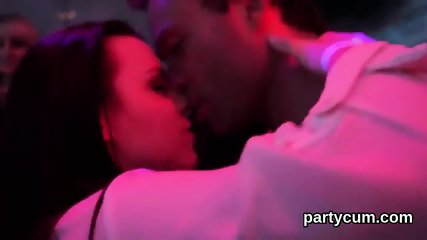 Wicked chicks get totally insane and undressed at hardcore party - scene 2