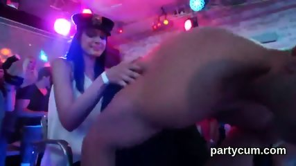 Wicked chicks get totally insane and undressed at hardcore party - scene 7