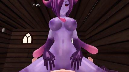 monster girl island demo eris the demon slime scene