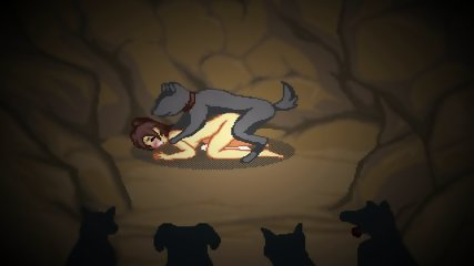 Pixel Town Wild Times - Animation Gallery (2 Game Over Scenes HD)