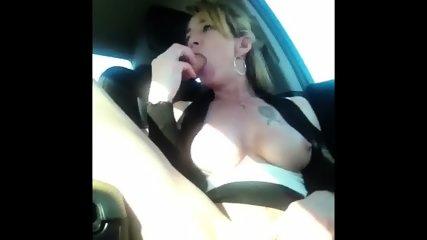 Shannon Dubois Car Squirt - scene 6