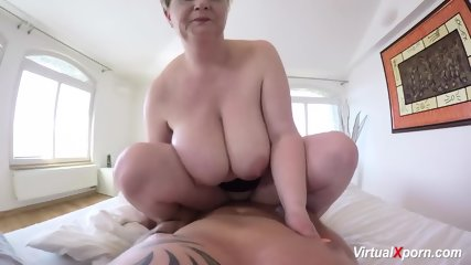 Hot POV Sex With Busty Stepmom - scene 7