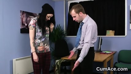 Wicked idol gets cum shot on her face swallowing all the jizz