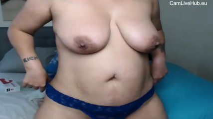 big naturals milf from CamLiveHub.eu show off for money pt2