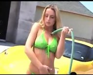 Carwash babe ready to fuck - scene 4