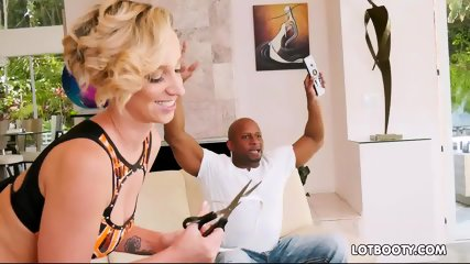 Perfect big ass Jada Stevens gets interracial fucked