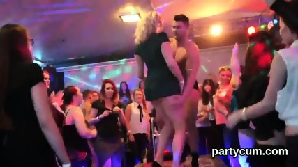 Naughty teenies get entirely foolish and nude at hardcore party