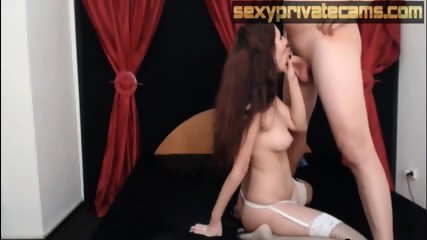 Cute babe wearing sexy lingerie fucks on webcam - Porn Movies - 3 Movs