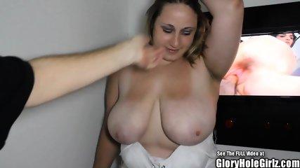BBW Glory Hole Porn
