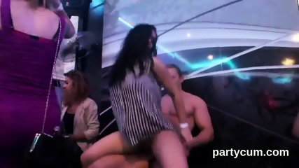 Sexy nymphos get completely wild and naked at hardcore party
