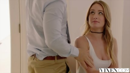 VIXEN Student Fucks Her Professor For Better Grades - scene 3