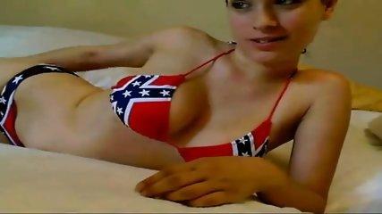 Hot Teen Strips Naked On Webcam - scene 6