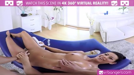 VR PORN-Sexy Brunette Lexi Dona Fuck On The Massage Table