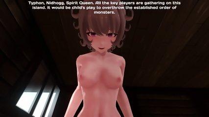 Monster Girl Island Demo - Mystery Girl Voiced Scene (HD) - scene 6