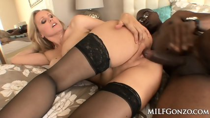 MILFGonzo Big Titty Julia Ann Cheats With A Big Black Cock - scene 7