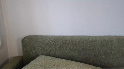 Pretty Blonde Teen Flashes Tits On Webcam - scene 7