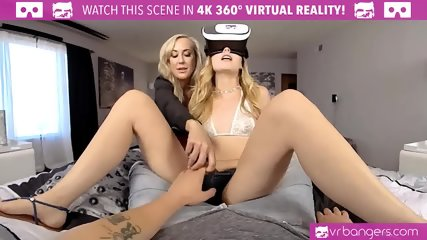 VR PORN - Sex With Ur GF And Her Step-Mom