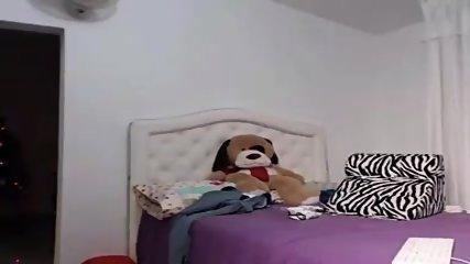 Heiße Latina Amazing Body Skype - scene 1