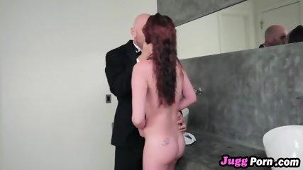 Sister of the bride Alice Coxxx sucks cock