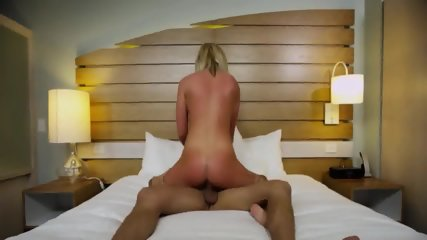 Blonde Teen In Hotel - scene 12