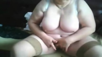 Busty Granny Showing Pussy On WebCam