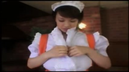 Busty Waitress waiting to serve - scene 1