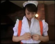 Busty Waitress waiting to serve - scene 2