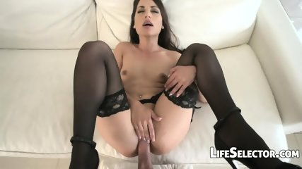 Cute Brunette Enjoys Being Fucked In The Ass - Nomi Melon - scene 11