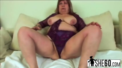 BBW mature Dominika loves fucking younger dudes