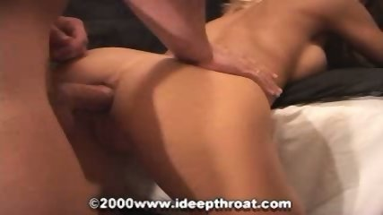 Blond slut loves a dick from her ass to her mouth - scene 3