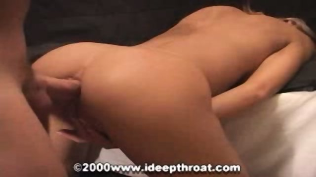 Blond slut loves a dick from her ass to her mouth
