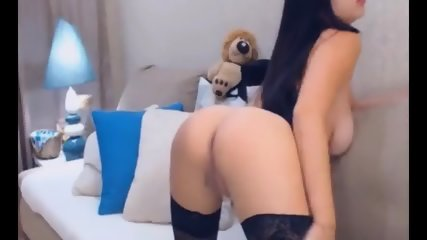 Pretty Hot Slut Chick Strips And Masturbate - scene 4