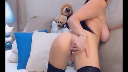 Pretty Hot Slut Chick Strips And Masturbate - scene 6