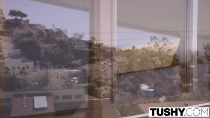 TUSHY Curvy Blonde Gets Her Ass Gaped - scene 2
