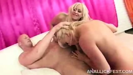 2 horny blonds sharing a cock part2 - scene 9