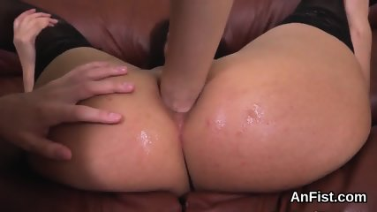 Wicked lesbian bombshells are opening up and fisting anuses