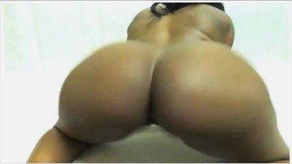 Ebony Ass Spread - scene 8