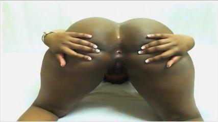 Ebony Ass Spread - scene 10