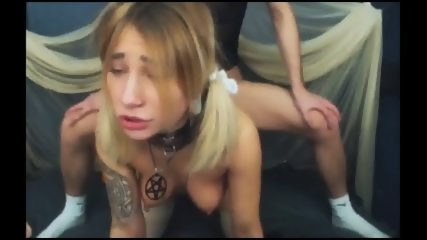 DeepThroat Blowjob And Hardcore Fucking Of Couple - scene 4