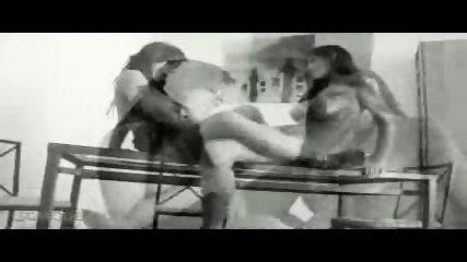 2 chicks play with a dildo - scene 5