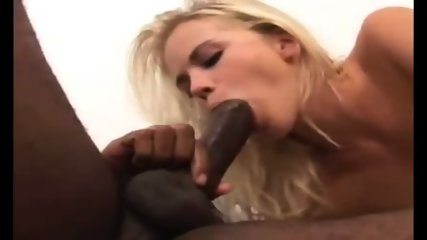 Horny Slut Rides A Fat Black Cock