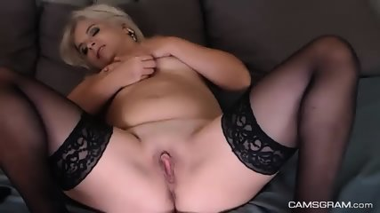 Sophisticated Busty Camslut Fucked Herself With Her Sextoy