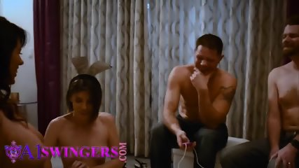Spoiled swingers are fucking like rabbits and unleashing gallons of cum
