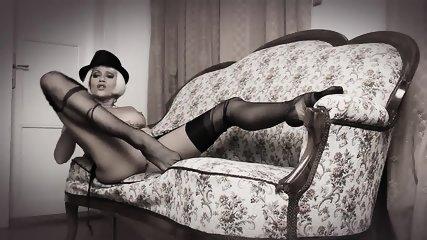 Teasing In Seamed Stockings - scene 9