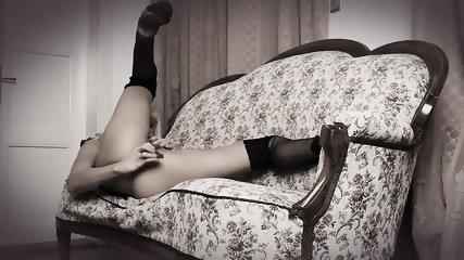 Teasing In Seamed Stockings - scene 12