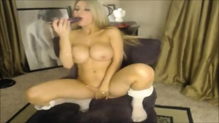 Blonde Big Bits Fucked Sextoys