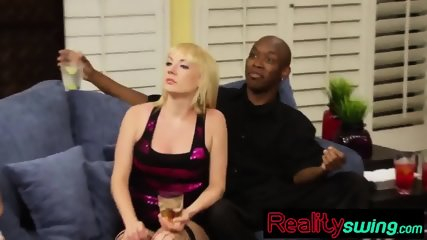 Swingers play sexual distraction game