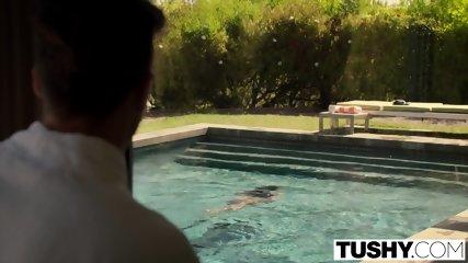 TUSHY Keisha Grey Anal Stretching And Gapes - scene 2